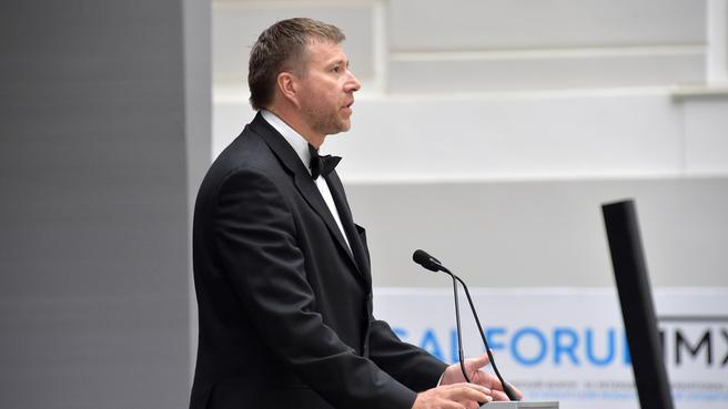 Александр Коновалов на пленарном заседании V Петербургского международного юридического форума