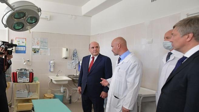 Михаил Мишустин ознакомился с работой Ульяновской областной детской больницы