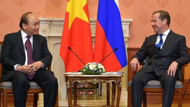Встреча Дмитрия Медведева с Премьер-министром Вьетнама Нгуен Суан Фуком