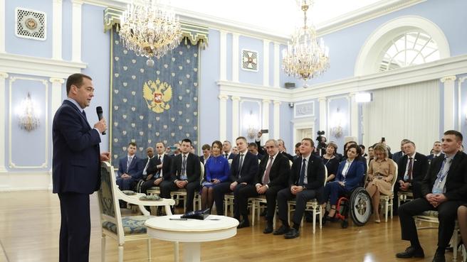 Встреча  с активом местных и первичных отделений партии «Единая Россия»
