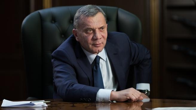Юрий Борисов на заседании Авиационной коллегии при Правительстве Российской Федерации