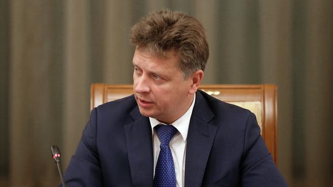Доклад Максима Соколова на заседании Правительства