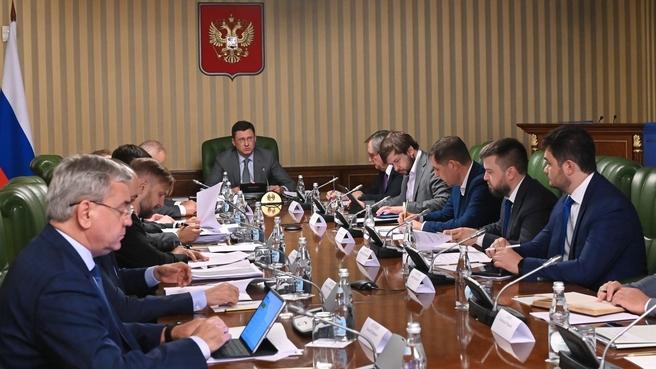 Заседание оргкомитета Российской энергетической недели – 2021