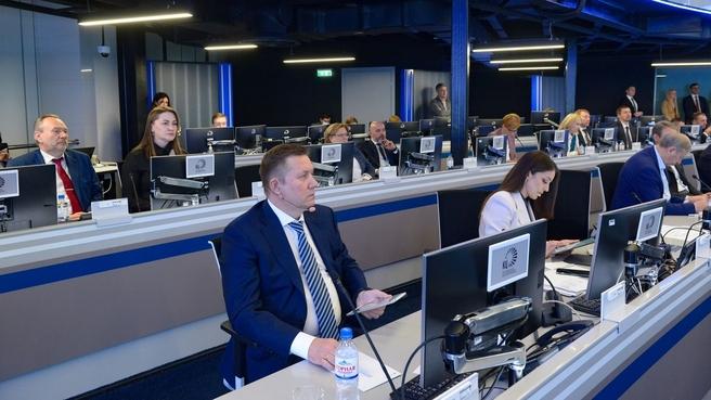 Дмитрий Чернышенко на  втором заседании правительственной комиссии по развитию туризма в России