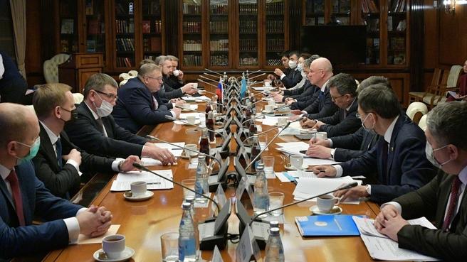 Алексей Оверчук встретился с Заместителем Премьер-министра Республики Казахстан Романом Скляром