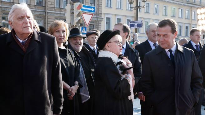 Открытие главного здания Большого драматического театра имени Г.А.Товстоногова