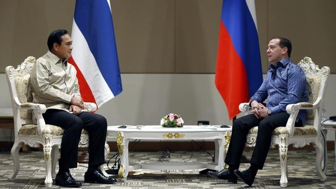 Встреча с Премьер-министром Королевства Таиланд Праютом Чан-Очой