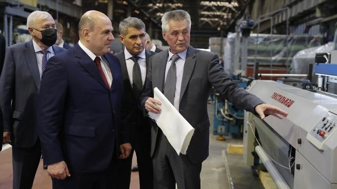 Посещение ОАО «Текстильмаш»