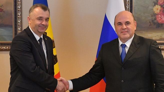 Встреча с Премьер-министром Молдавии Ионом Кику