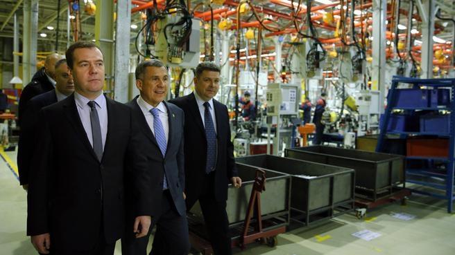 Посещение завода «Форд Соллерс – Набережные Челны»