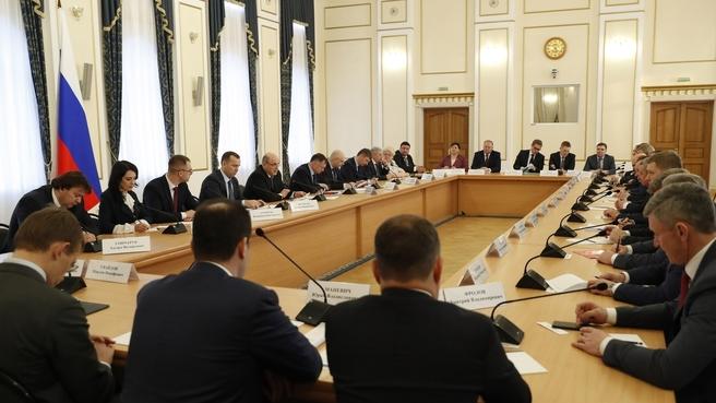 Встреча с членами Совета по стратегическому развитию Курганской области и представителями общественности