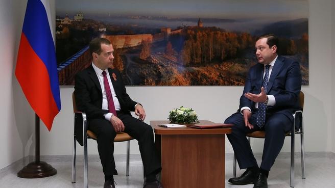 Встреча с губернатором Смоленской области Алексеем Островским