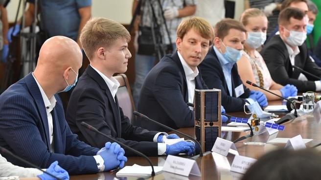 Встреча  с молодыми учёными и предпринимателями Краснодарского края