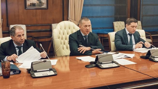 Юрий Трутнев на заседании рабочей группы по ТОР и ОЭЗ