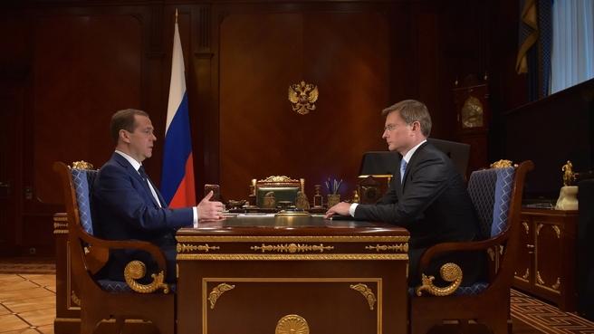 Встреча с Сергеем Ивановым