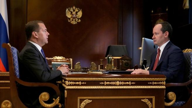 Встреча с генеральным директором, председателем правления ПАО «Россети» Павлом Ливинским
