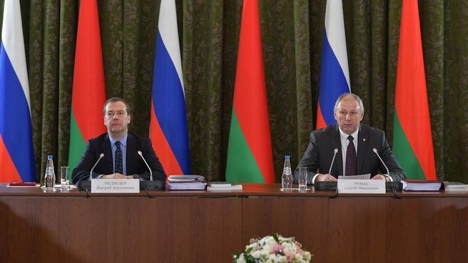 Выступление Сергея Румаса на заседании Совета Министров Союзного государства