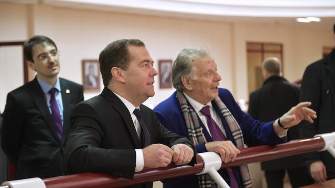 C лауреатом Нобелевской премии, академиком РАН, ректором Академического университета Жоресом Алфёровым