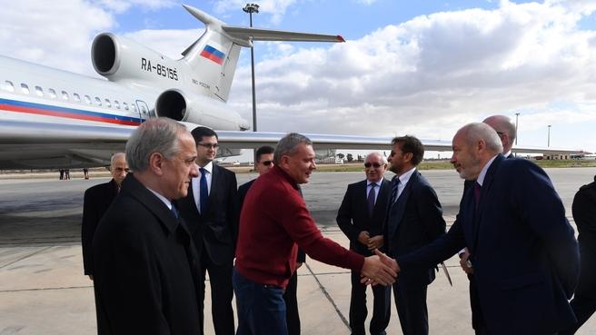 Визит Юрия Борисова в Сирию
