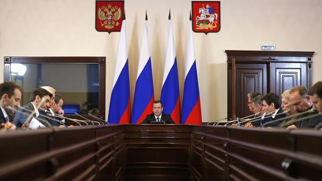 Заседание президиума Совета при Президенте Российской Федерации по стратегическому развитию и приоритетным проектам