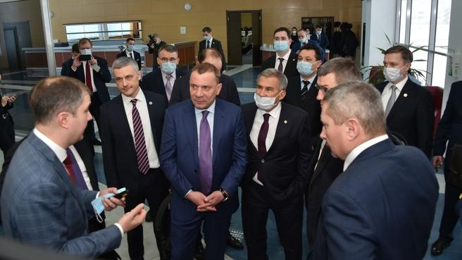 Юрий Борисов посетил предприятия композитного дивизиона «Росатома» Umatex в Республике Татарстан