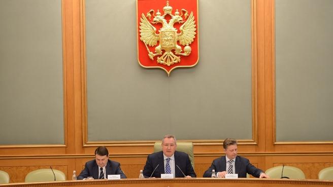 Первое заседание Авиационной коллегии при Правительстве России