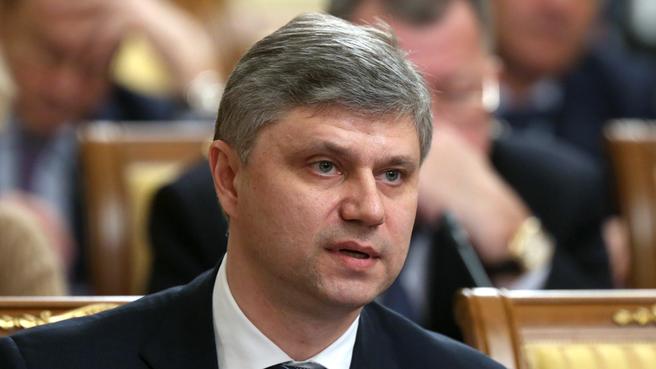 Сообщение руководителя ОАО «РЖД» Олега Белозёрова на заседании Правительства