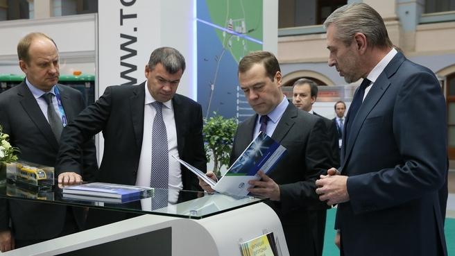 Посещение выставки «Транспорт России»