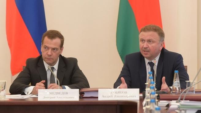 Выступление Премьер-министра Республики Беларусь Андрея Кобякова на заседании Совета Министров Союзного государства