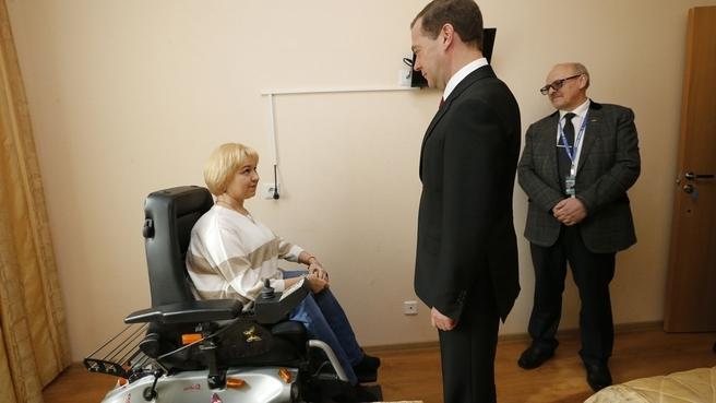 Посещение Центра социальной реабилитации инвалидов