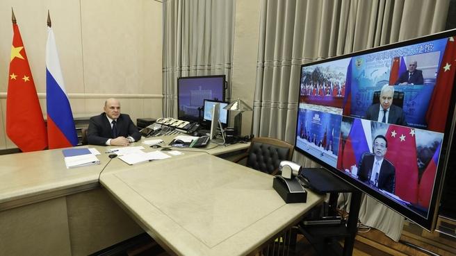 25-я регулярная встреча глав правительств России и Китая