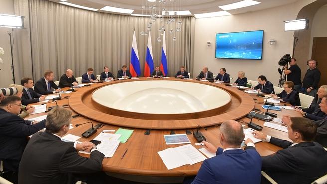 Совещание о внедрении систем дистанционного контроля в рамках реализации реформы контрольно-надзорной деятельности
