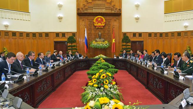 Russian-Vietnamese talks