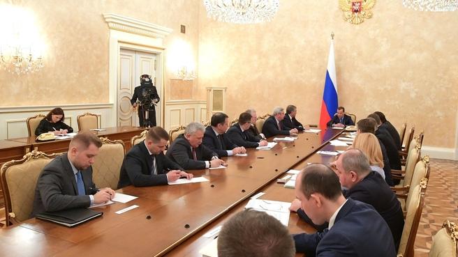 Встреча с руководством фракции ЛДПР в Государственной Думе
