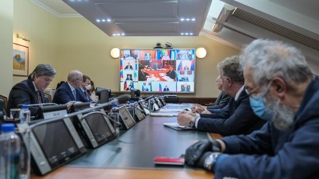 Юрий Трутнев провёл заседание президиума Государственной комиссии по вопросам развития Арктики (в режиме видеоконференции)