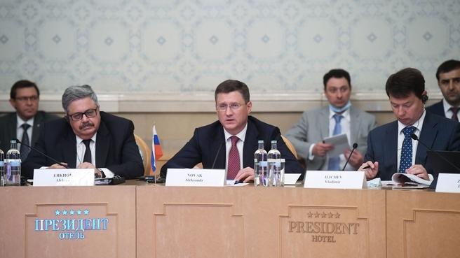 Александр Новак на 17-м заседании Смешанной межправительственной Российско-Турецкой комиссии по торгово-экономическому сотрудничеству