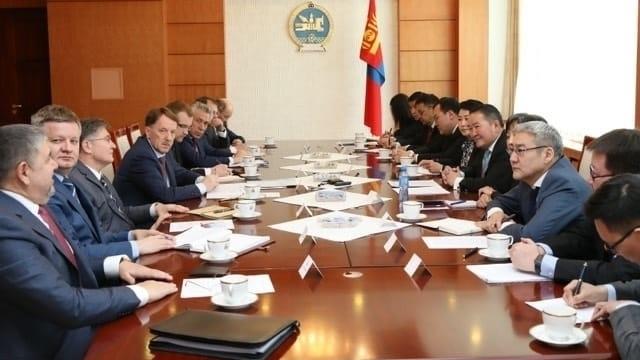 Встреча Алексея Гордеева с Президентом Монголии Халтмаагийн Баттулгой