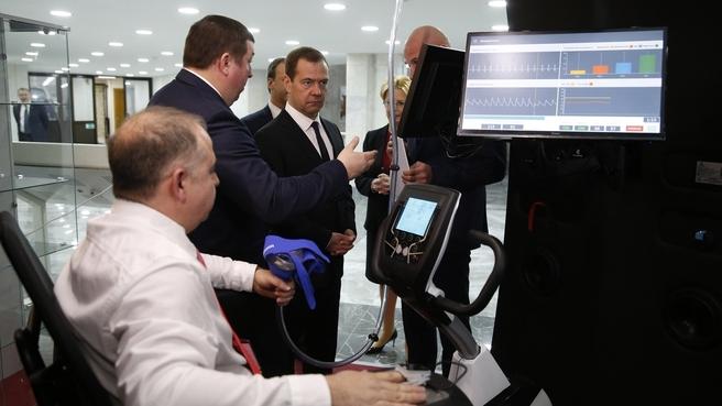 Посещение Первого Московского государственного медицинского университета имени И.М.Сеченова