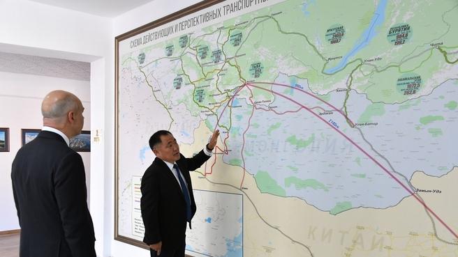 Рабочая поездка Антона Силуанова в Республику Тыва
