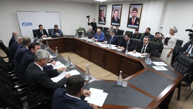 Александр Новак провёл совещание по проведению газификации в Чеченской Республике