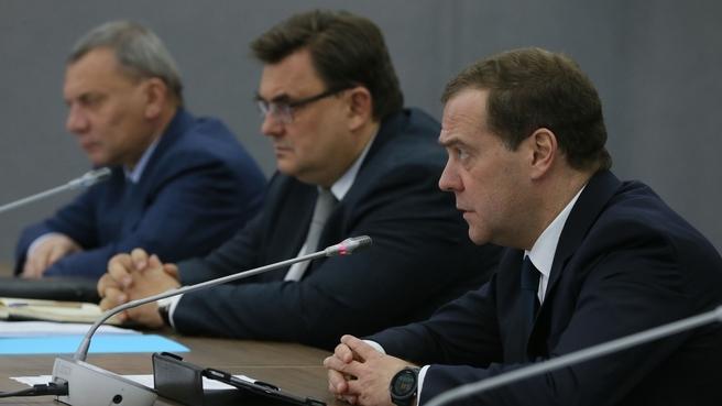 Вступительное слово Дмитрия Медведева на совещании по вопросам развития Арктики