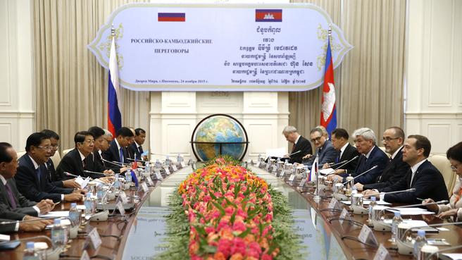 Russian-Cambodian talks