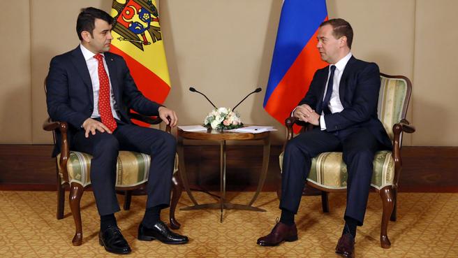 Беседа с Премьер-министром Молдавии Кириллом Габуричем