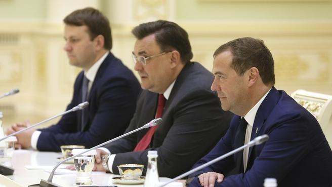 Meeting with President of Uzbekistan Shavkat Mirziyoyev
