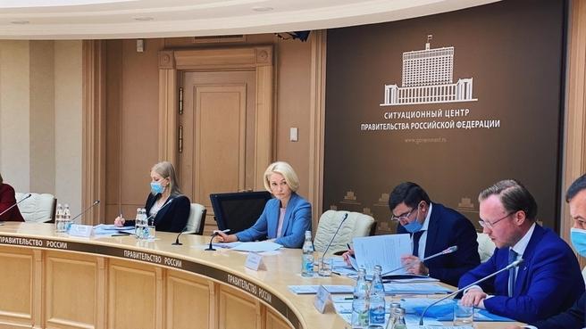 Заседание рабочей группы по обеспечению предупреждения и устранения загрязнения окружающей среды на территории города Усолье-Сибирское в Иркутской области
