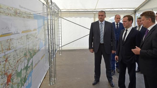Ознакомление с ходом проектных работ по реконструкции и строительству новой автодороги «Таврида»