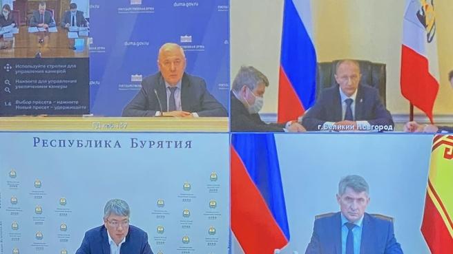 Юрий Трутнев провёл заседание рабочей группы по ТОР и ОЭЗ