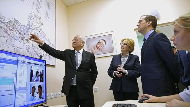 Посещение Оренбургского областного перинатального центра