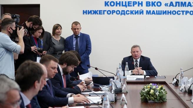 На совещании под руководством первого заместителя председателя коллегии Военно-промышленной комиссии Андрея Ельчанинова обсудили партнёрство ОПК и ТЭК