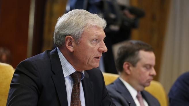 Доклад заместителя Министра транспорта Александра Юрчика на совещании об исполнении поручений Президента и Правительства России